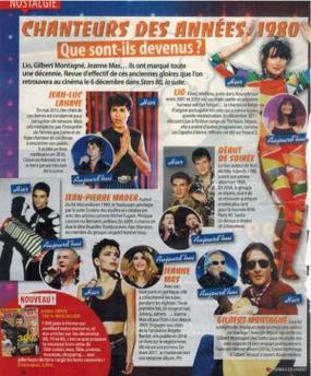 News presse -  Petit encart dans le TV GRANDES CHAINES du 05 au 12 décembre 2017 (n°357)