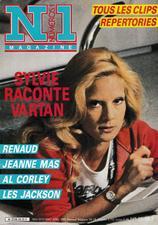 """Article de presse -   Jeanne interviewée par le mensuel """"Numéro 1""""  Avril 1985"""