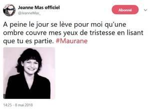 JEANNE rend hommage à MAURANE