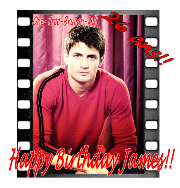 HAPPY BDAY JAMES & SHANTEL!! News de Chad, Hilarie, Photos du set OTH s9, Sophia surfing, Ted Davis is Richard Burgi