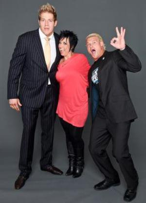 Dolph Ziggler, Vickie Guerrero & Jack Swagger
