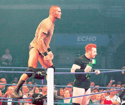 John Cena, Randy Orton & Sheamus