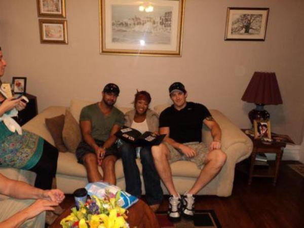 Justin Gabriel, Alicia fox & Wade Barrett