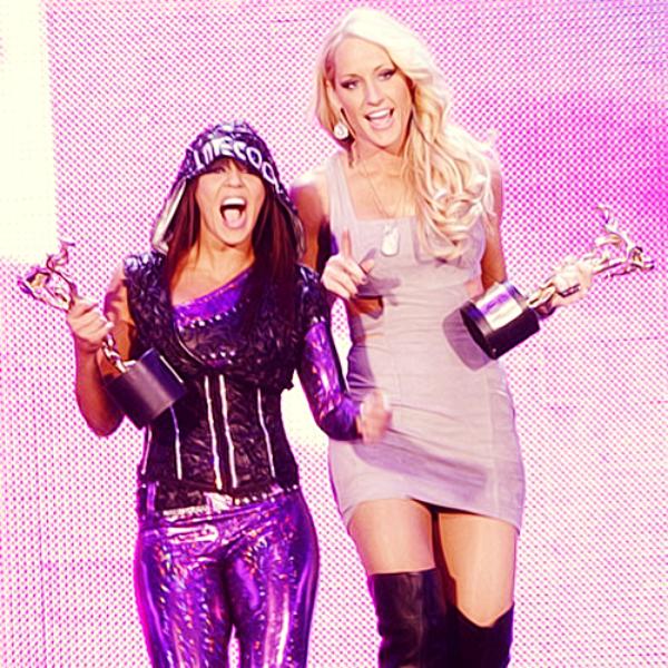Layla & Michelle McCool