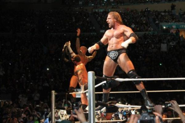 CM Punk, Randy Orton & Triple H VS Dolph Ziggler, Cody Rhodes & Chris Jericho