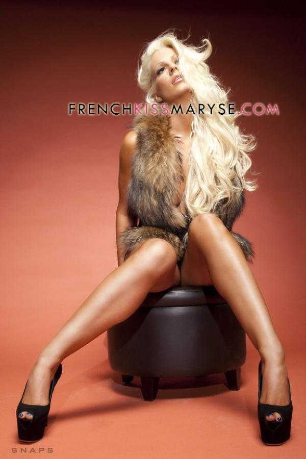 New photoshoot pour Maryse