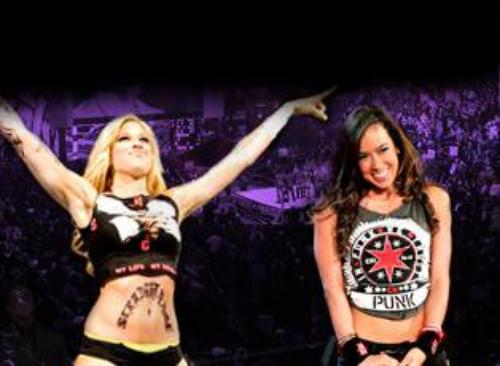 Kelly Kelly & AJ supportrice de CM Punk. Laquel préférer vous ?