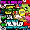 16/03 @CLUB AMIENS     Sunday Afternoon Party Session 1