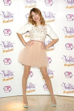 Look de Star: Martina Stoessel (Violetta)