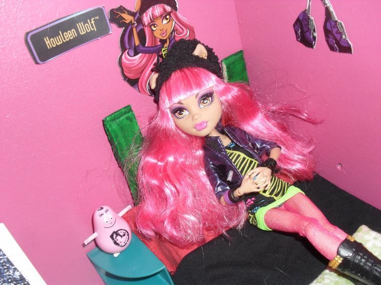 Nouvelle venue au Lycée Monster High :D