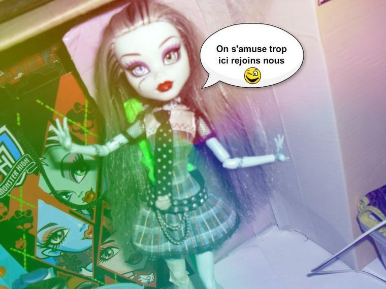 C'est la fête a Monster High :D♥