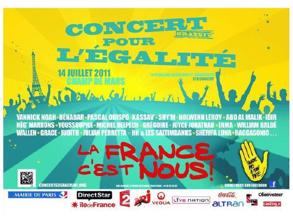 La Nrj Corsiva Party   &  Le Concert de l'égalité