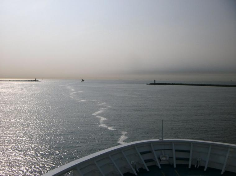 L'horizon !