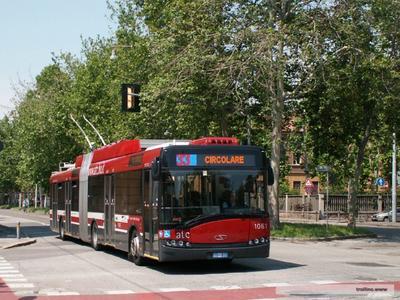 Une 4ème Ligne de trolleybus à Bologne (Italie)