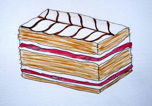 Dessin 32  - Pâtisserie