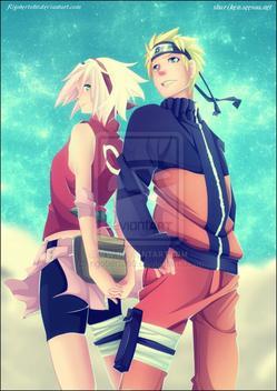 """AAH que c'est pas juste, que c'est horrible eeh oui personne (du moins peu de gens) parle de Sakura Haruno (vous croyez que c'était plus grave hein?) Voici son histoire: Bon alors Sakura Haruno est une fille très intelligente (c'est son seul avantage, à aussi elle possède un caractère très violent qu'elle exprime sur Naruto! dans la première saison Sakura n'est qu'une potiche qui ne sait que dire """"Sasuke!""""car elle et complétement méga dingue de lui avec ses yeux noir si profond... mais celui-ci ne s'en intérresse pas mais alors pas du tout!évidement pour Naruto la situation est de même il aime Sakura mais elle le remballe...Mais p'tit à p'tit elle laissera de côté ses sentiments envers lui (dû moins elle ne le montre pas au fil de l'histoire) car l'inquiètude sera ses nouvelles pensée puisque Sasuke semble quitter """"le droit chemin"""" depuis qu'il possède la marque maudite faite par Orochimaru! Cependant elle aura plus de respect envers Naruto qui lui s'améliore de son côté. Indéniablement, Sasuke disparaît et elle finit par prendre conscience de sa faiblesse extrême pour le combat.Deux ans et demi plus tard grâce à son maître Tsunade La belle Sakura prend du charisme mais surtout de la puissance et de savoir en la médecine se qui fait d'elle une redoutable Kunoichi et perd son titre """"de personnage qui sert à rien""""Néanmoins, Sakura éloignée de Sasuke lui à permis d'ouvrir les yeux et de voir la valeur qu'à vraiment Naruto, Sakura à toujours été inconsciemment """"une mère"""" pour Naruto car elle ne le frappait que lorsque celui-ci ne respectait les règles de politesse ou bien qu'il faisait trop l'idiot.Récemment, Saï le remplaçant de Sasuke dans la team 7 lui à avoué que Naruto l'aimait. Sakura comprends alors qu'à travers sa souffrance d'être éloigné de Sasuke faisait aussi souffrir Naruto. Ainsi Sakura supporte de moins en moins le faite qu'elle ne puisse encore rien faire d'important pour ceux qu'elle aime! C'est ainsi qu'elle part avec Kiba et Lee rejoindre Naruto et va"""