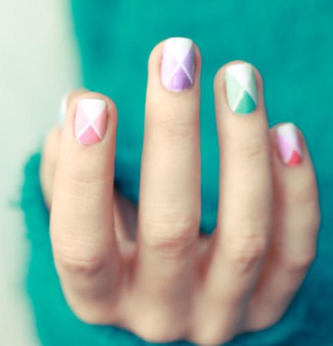 Nail Art simple (2)