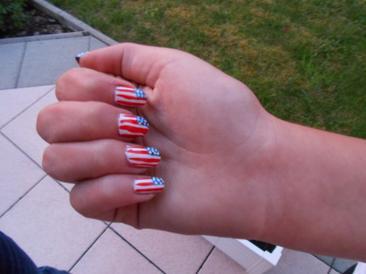 Nail Art Etats-Unis.