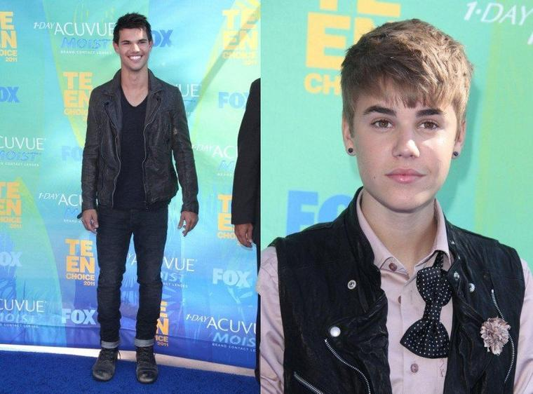 Le tapis rouge des Teen Choice Awards 2011