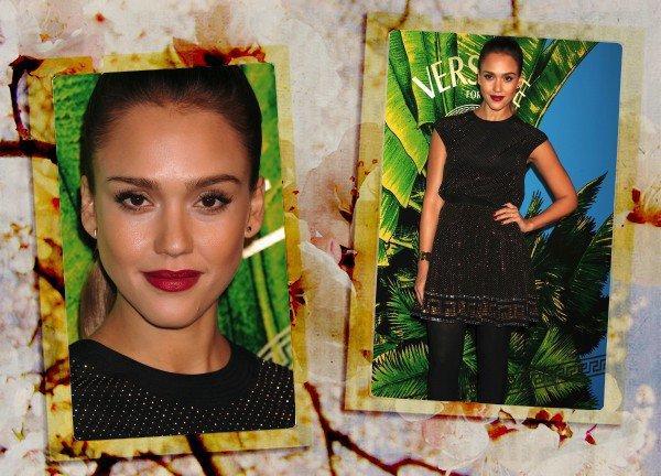 03/11/11>Jessica a participé à la Fashion Event Versace pour H&M. Jessica est trés belle, votre avis ?