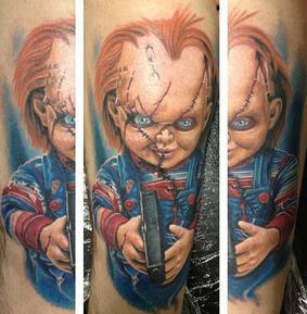 Tattoo de Chucky