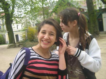 Loubna et moi