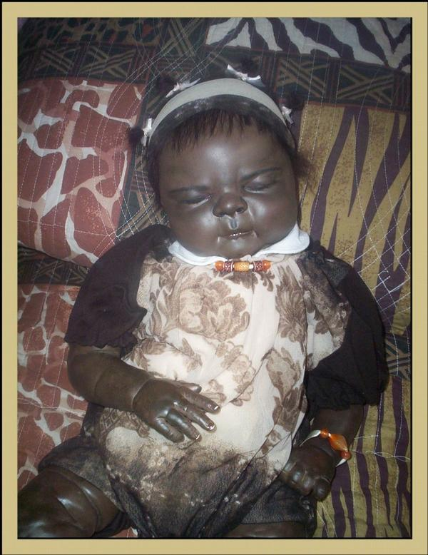 FATOU bébé reborn africain