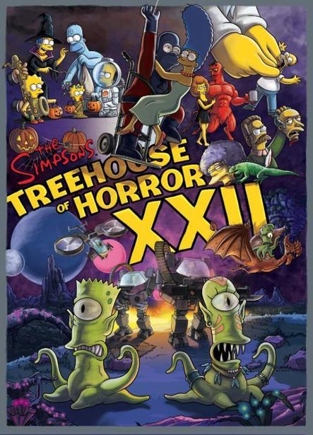 Saison 23 épisode 3 - Simpson Horror Show XXII