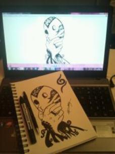 Oui je dessine aussi