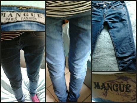 jean slim marque / mangue