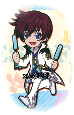 No one can't stay before my blade. #Asbel Lhant