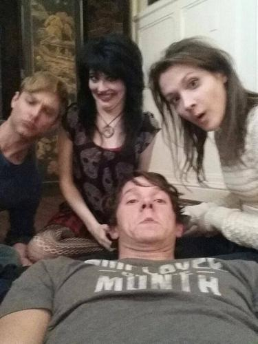 Morganville : The série photo du tournage