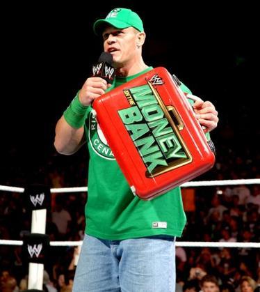 John Cena  premier perdant MitB ?