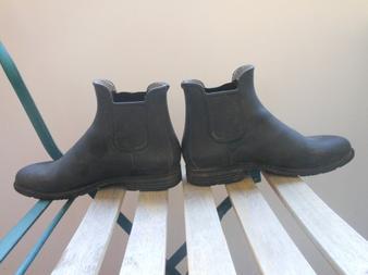 Boots Fouganza caoutchouc