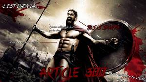 L'Article 300... This is SPARTA !!!
