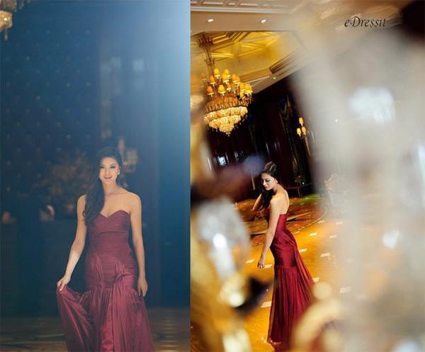 beautiful girl with beautiful dress