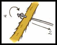 technique n°2 : le crochet