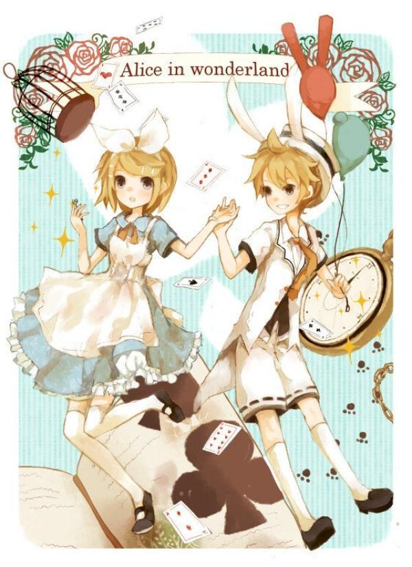 Thème ~ Alice aux pays des merveilles