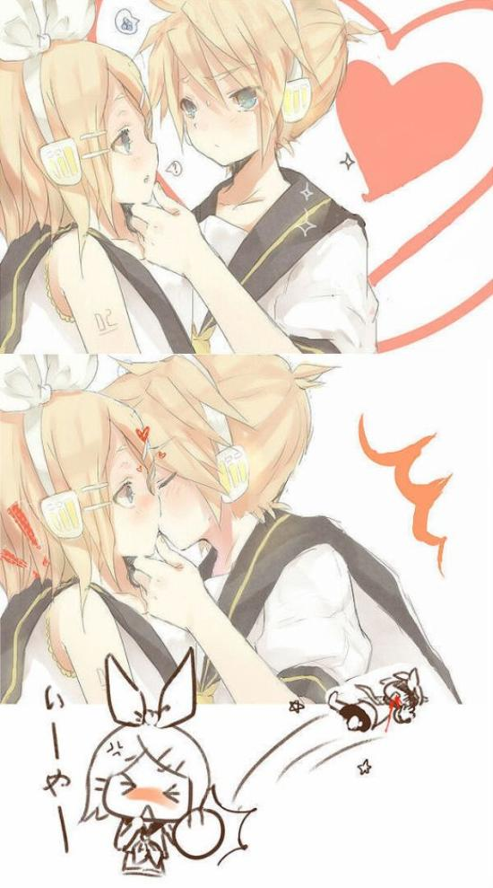 ~ Funny Kiss