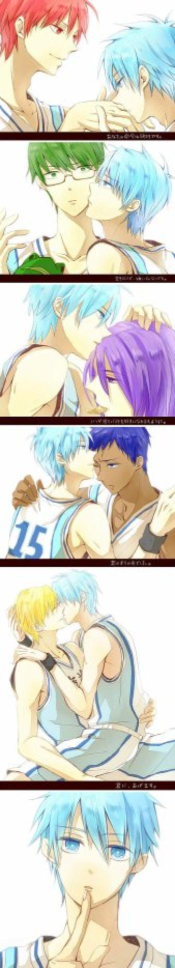 """~ Kuroko No Basuke """"Kiss CHUUUUUT"""""""