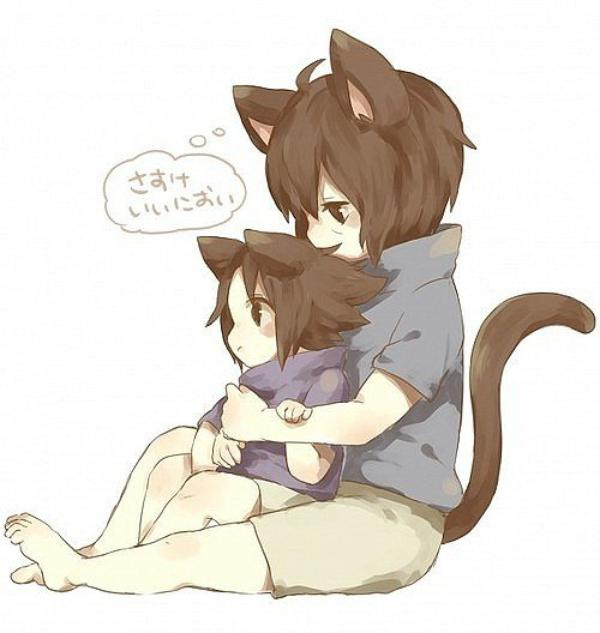 ~ Représentation Itachi & Sasuke en Neko ? xD