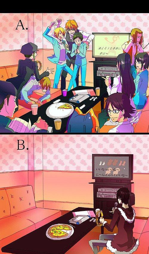 ~ Trop funny les Karaoke =3 Mais seul c'est un peu triste =(