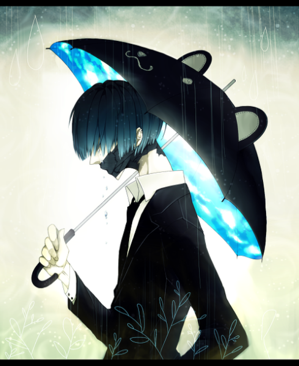 ~ Je kiff son parapluie *0*