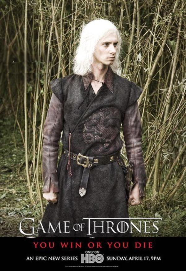 52. Game of thrones - Saison 1 - Personnages : VISERYS TARGARYEN