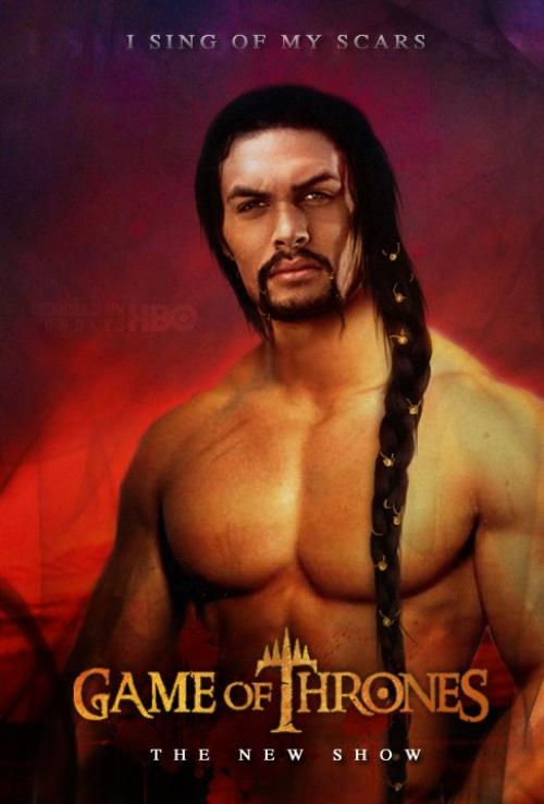 53. Game of thrones - Saison 1 - Personnage : KHAL DROGO