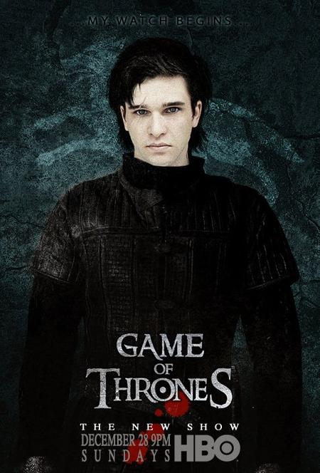 61. Game of thrones - Saison 1 - Personnages : JON SNOW