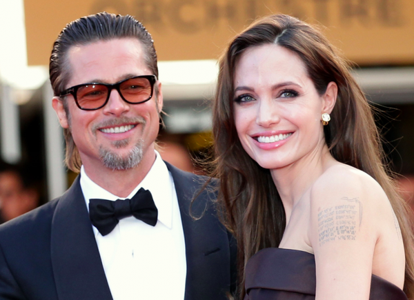 Brad Pitt and Angelina Jolie, a movie divorce