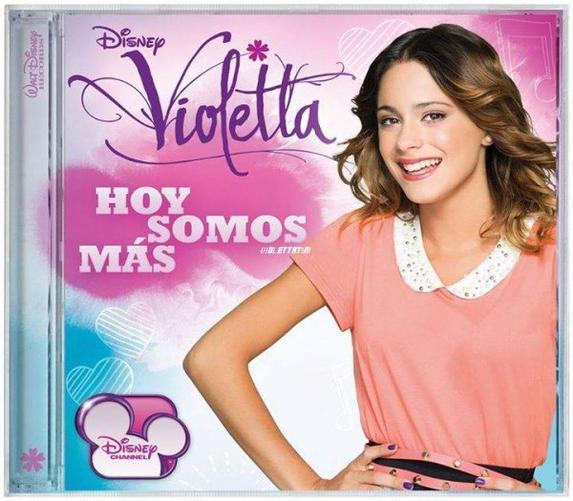 Le nouveaux CD de Violetta 2