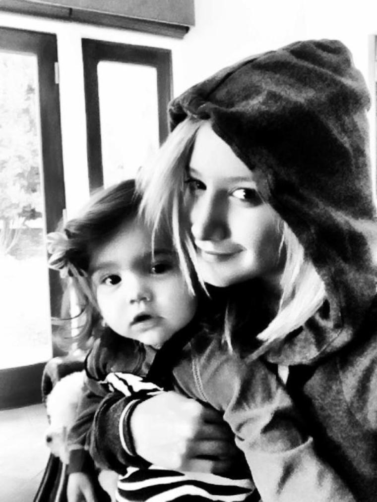 Ashley et sa niece ! Trop chou^^ <3
