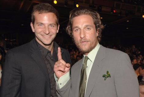 Bradley Cooper/ Matthew McConaughey